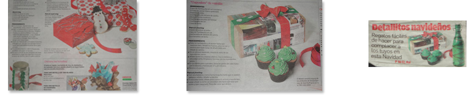 Local newspaper featuring, Christmas- Primera Hora